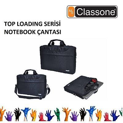"CLASSONE TL2561 15,6"" Uyumlu Toploading Serisi Notebook Çantası Siyah"
