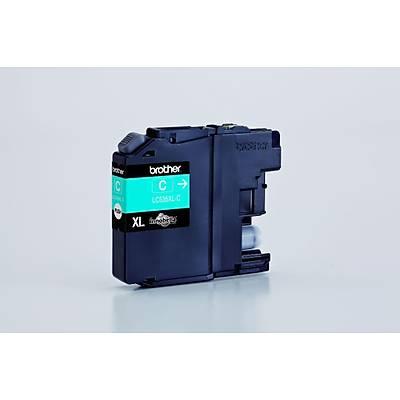 BROTHER LC535XLC Çok Fonksiyonlu Renkli Yazıcı Kartuşu Mavi