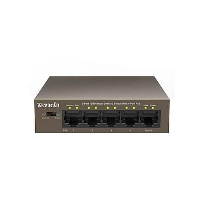 TENDA TEF1105P Tak-Çalıştır/Duvara montaj/Metal kasa/802.3af/at