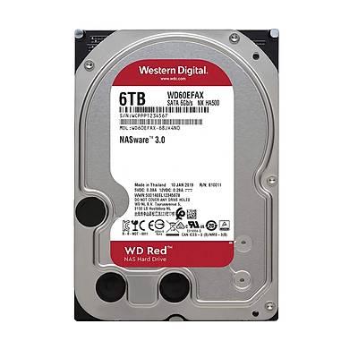 WD Red 3,5 SATA III 6Gbs 6TB 64MB 7/24 NAS WD60EFAX