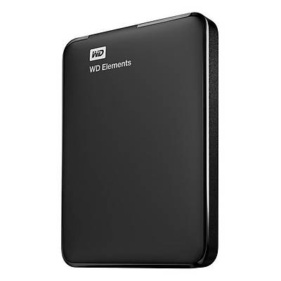 WD ELEMENTS PORTABLE 4TB BLACK 2.5' 128mb