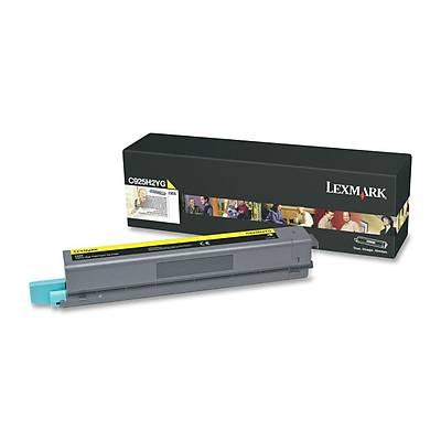 Lexmark C925H2YG Toner Sarý (7,500 Sayfa)