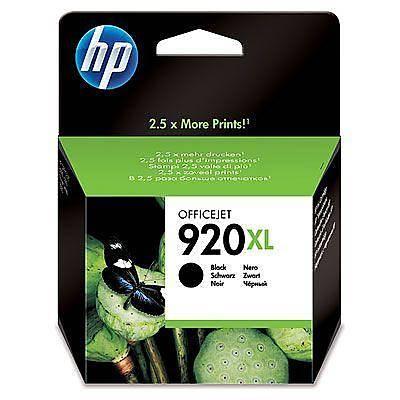 HP CD975A HP 920XL Siyah Officejet Mürekkep Kartuþu