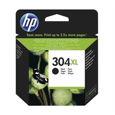 HP N9K08A NO 304XL Yüksek Kapasiteli Siyah Kartuþ