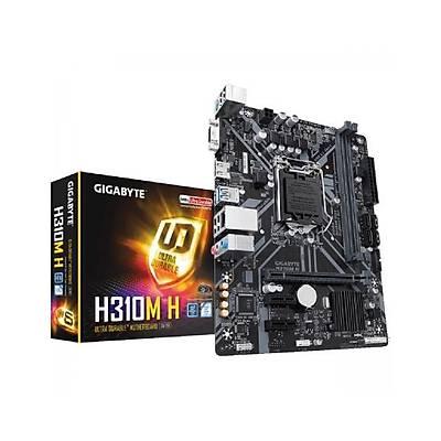 GIGABYTE H310M-H INTEL H310 1151 DDR4 2666MHZ DVI-D Anakart