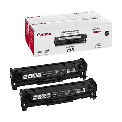 Canon CRG-718 BK VP 2'li Toner 2662B005