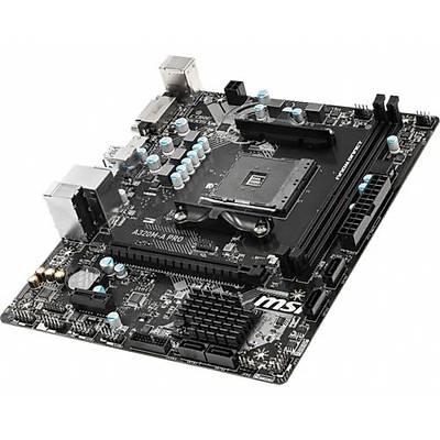 MSI A320M-A PRO DDR4 S+V+GL AM4 (mATX) Anakart