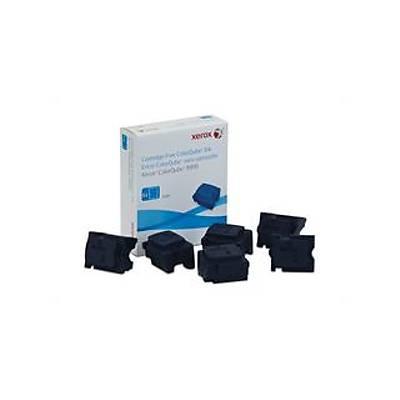 XEROX 108R01022 COLORQUBE 8900 GENUINE XEROX SOLID INK CYAN (6 STICKS) 16900 SAYFA