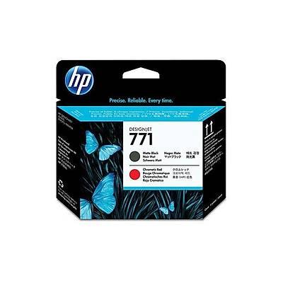 HP 771 Mat Siyah/Kromatik Kýrmýzý DesignJet Baský Kafasý (CE017A)
