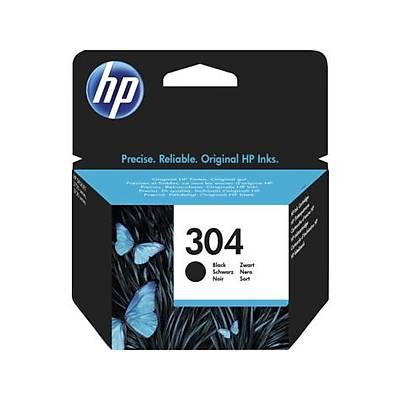 HP N9K06AE (304) Siyah Mürekkep Kartuþu 120 Sayfa