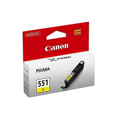Canon CLI-551 Sarý Mürekkep Kartuþ 6511B001