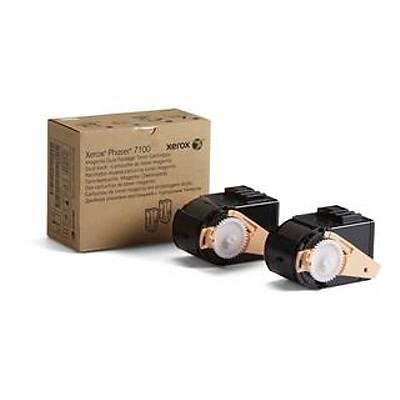 XEROX 106R02610 PHASER 7100 YUKSEK KAPASITELI MAGENTA TONER KARTUSU (2 LI) 9000 SAYFA