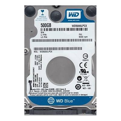 WD BLUE 2,5 500GB 32MB 5400RPM WD5000LPCX