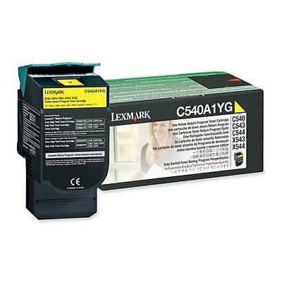 Lexmark C540A1Yg Sarý Toner