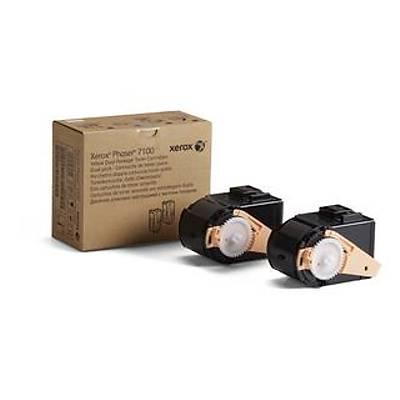 XEROX 106R02611 PHASER 7100 YUKSEK KAPASITELI SARI TONER KARTUSU (2 LI) 9000 SAYFA