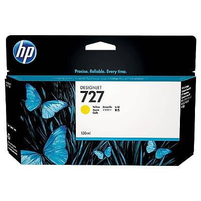 HP B3P21A (727) SARI 130 ML GENIS FORMAT MUREKKEP KARTUSU