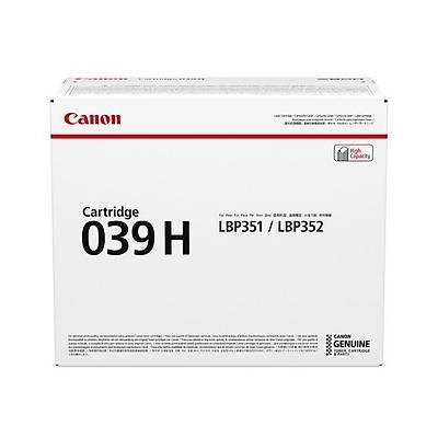 Canon 039H BK Toner Kartuþ 0288C001