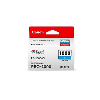 Canon INK PFI-1000 Mavi Mürekkep 0547C001