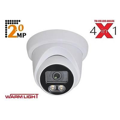 SP-6020D-FW 2.0 MP 3,6 MM 3500K SOFT WARM LIGHT PLASTÝK DOME KAMERA