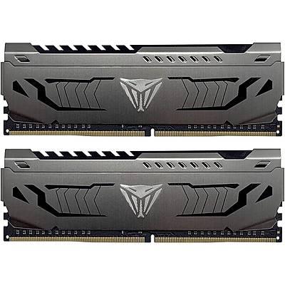 PATRIOT PVS432G320C6K 32GB (16GBx2) 3200MHz DDR4 DUAL VIPER STEEL BLACK Gaming Masaüstü Ram