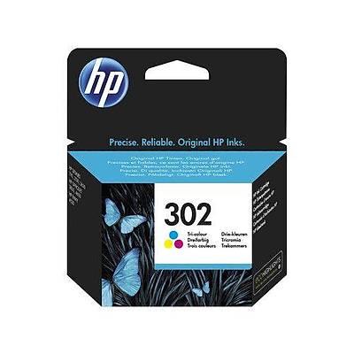 HP F6U65A HP 302 Üç Renkli Orijinal Mürekkep Kartuþu