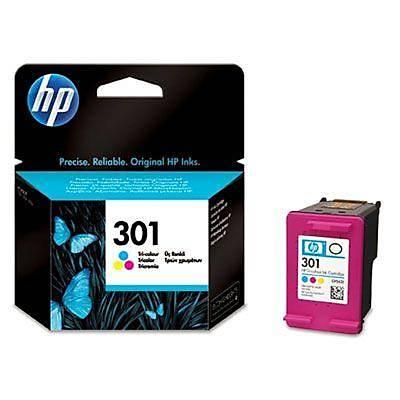 HP CH562E HP 301 Üç Renkli Mürekkep Kartuþu