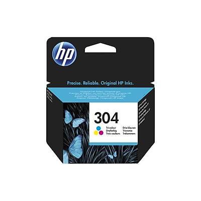 HP 304 Üç Renkli Orijinal Mürekkep Kartuþu (N9K05AE)