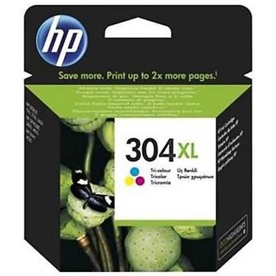 HP N9K07A NO 304XL Yüksek Kapasiteli Üç Renkli Kartuþ