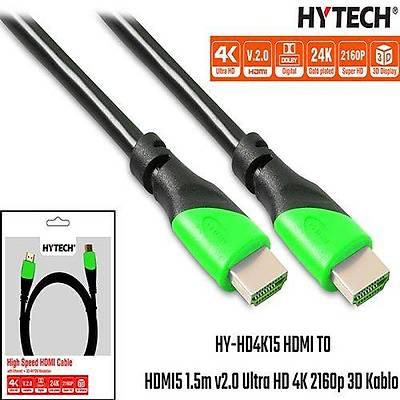 Hytech HY-HD4K15 HDMI TO HDMI 15m Kablo