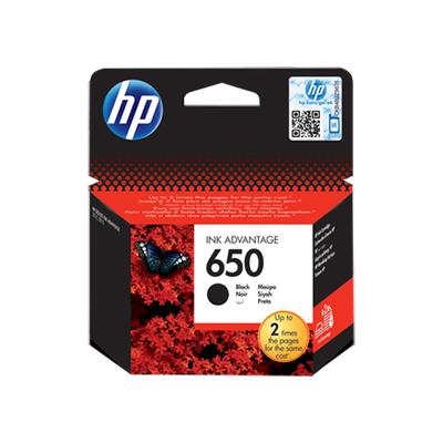 HP CZ101AE (650) SIYAH MUREKKEP KARTUSU 360 SAYFA