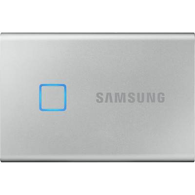 SAMSUNG MU-PC500SWW 500GB T7 Touch USB 3.2 Flash SSD Gümüþ