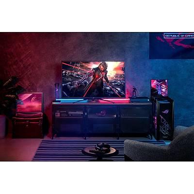 ASUS PG43UQ ROG SWIFT DSC 43'' GAMING HDR FREESYNC VE G-SYNC UYUMLU 3840x2160 1MS(MPRT) 144HZ 3YIL HDMIx2 DPX2 2xUSB