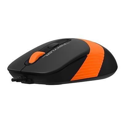 A4 Tech FM10 Mouse Usb Turuncu 1600DPI
