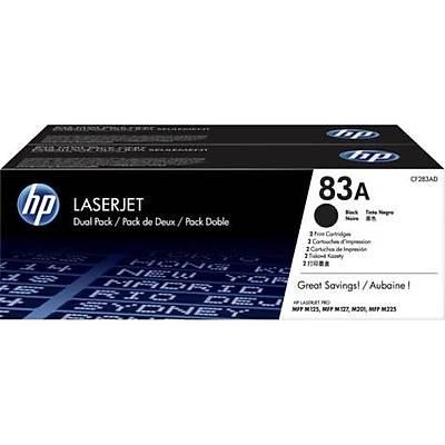 HP CF283AF (83A) SIYAH 2LI PAKET TONER 1.500 SAYFA