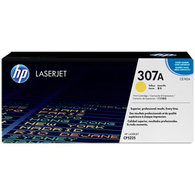 HP CE742A 307A Sarý Orijinal LaserJet Toner Kartuþu