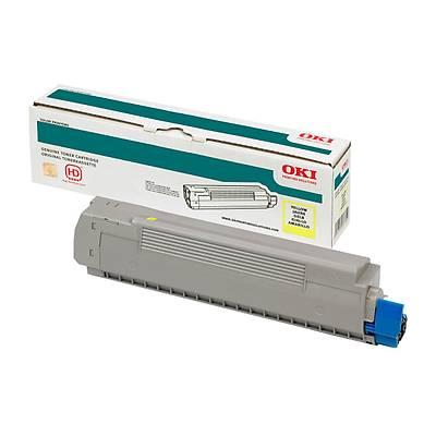 OKI 46471105 TONER-Y-C823/833/843-7K SARI TONER / C823, C833, C843 / 7000 SAYFA