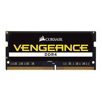 CORSAIR CMSX16GX4M1A2666C18 16GB DDR4 2400MHz CL18 VENGEANCE SIYAH NOTEBOOK SODIMM BELLEK