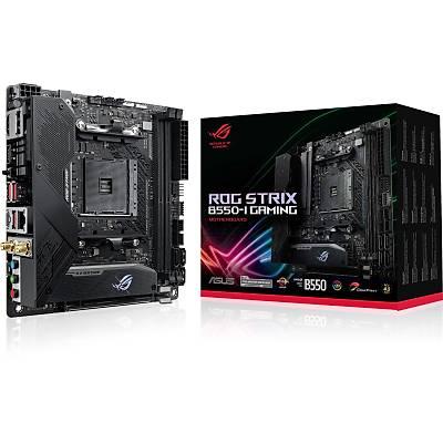 ASUS ROG STRIX B550-I GAMING AMD B550 AM4 DDR4 5100 DP HDMI ÇÝFT M2 USB3.2 AX WÝFÝ