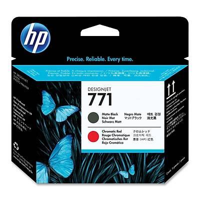 HP CE017A HP 771 Mat Siyah/Kromatik Kýrmýzý DesignJet Baský Kafasý