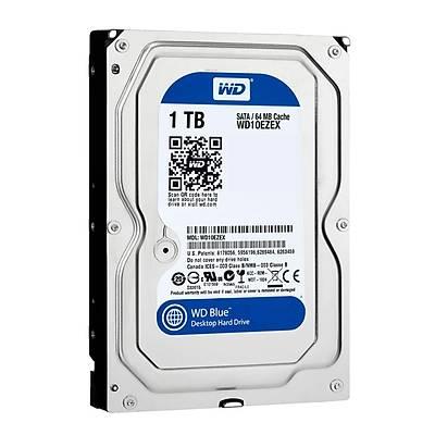 WD Blue 3,5 SATA III 6Gb/s 7200 RPM 1 TB 64MB WD10EZEX