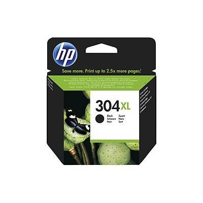 HP 304XL Siyah Orijinal Mürekkep Kartuþu (N9K08AE)