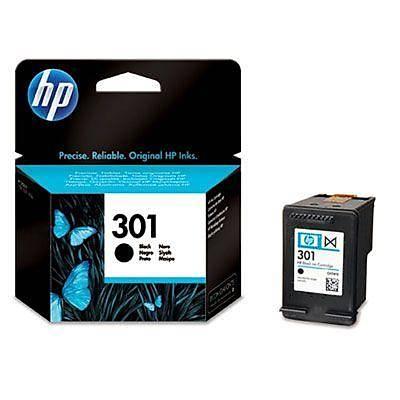 HP CH561E HP 301 Siyah Mürekkep Kartuþu