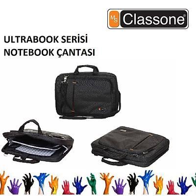 CLASSONE UL160 Ultracase Serisi Notebook Çantasý Siyah