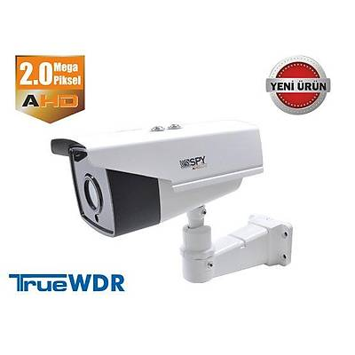 SPY SP-8120H 2.0 MP 3.6 MM 3MP LENS 4 ARRAY LED T-WDR IR BULLET AHD KAMERA