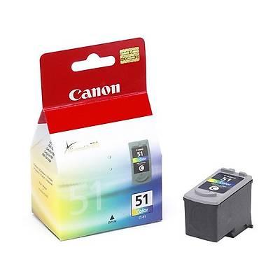 Canon CL-51 CMY Mürekkep Kartuþ 0618B001