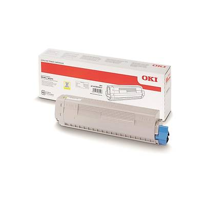 OKI 45862837 SARI TONER / MC853 / MC873/ MC883 7.300 SAYFA