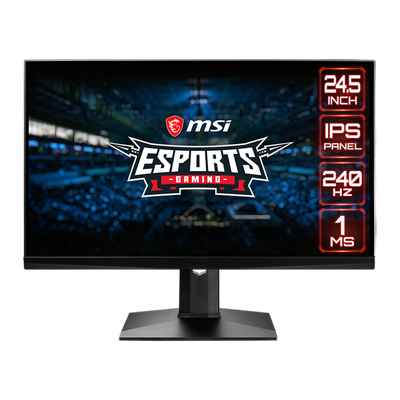 MSI OPTIX 24,5'' MAG251RX FHD IPS 240HZ 1MS HDMI+DP FLAT GAMING MONITOR