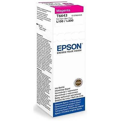 Epson T6643 Magenta Kartuþ 70ml