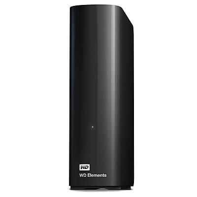 """WD WDBWLG0100HBK-EESN EXT 3,5"""" 10TB ELEMENTS USB3.0 SÝYAH"""