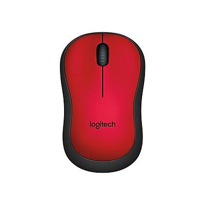 LOGITECH M220 SILENT MOUSE RED 910-004880